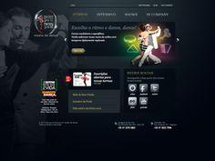 Website - Studio de Dança Dois pra lá Dois pra cá