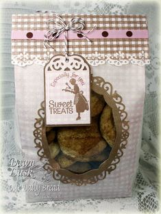 Stamps - Our Daily Bread Designs Baking Gift Tags, Gingham Background, Recipe Card Categories.  Exclusive Recipe Card and Tags Die