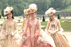 Marie Antoinette costume.  This movie had SO many adorable dresses, I could not stop watching it!!!