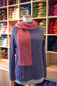 Ravelry: Winter Haven Scarf pattern by Aimee Alexander