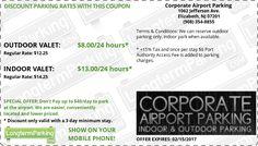 newark airport parking coupon