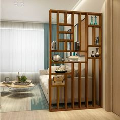 Living Room Partition Design, Living Room Divider, Room Partition Designs, Room Door Design, Home Room Design, Home Living Room, Home Interior Design, Living Room Designs, Living Room Decor
