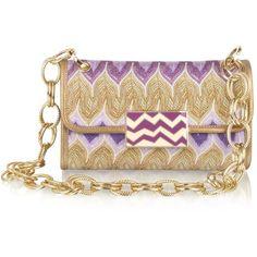 Missoni Metallic Weave Shoulder Bag