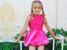 Handmade knitted dress/Velvet bubble skirt/Toddler girl flower dress/Sleeveless crochet dress/Crochet lace/Macrame dress/Kids velvet dress