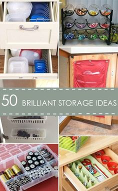 The ideas are simple and most of the storage options can be found scattered around your house, adding on the mess in your abode.