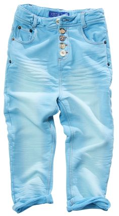 Button Pants Freshblue