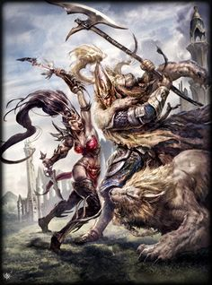 File:Witch Elf vs White Lions.jpg