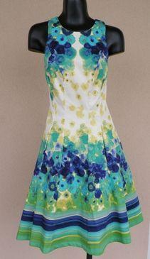 8c82c605f59 Floral & Stripes Maggy London Dress #PolkaDots #MaggyLondon #dress #Fashion  #MainLine #Womensfashion