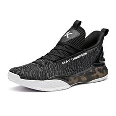 separation shoes 0fce1 88a42 Anta 2019 Klay Thompson KT4 Light Mens Basketball Sneakers - Black
