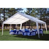 Found it at Wayfair - 20 Ft. W x 20 Ft. D Canopy