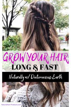 We know that there are many reasons for hair breakage and different methods to stop breakage on type 4 hair.  Let's BOOST you hair growth too! THIS REALLY WORKS...  Here's the deal with why Diatomaceous Earth hair growth results are fast & strong...  Look: