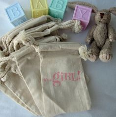 it's a girl Baby Shower Favors 10 it's a GIRL by lifeissobeautiful, $11.50