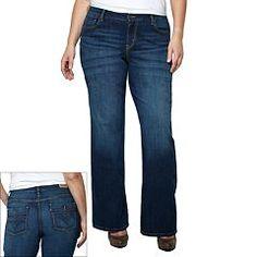 Plus Size Levi's 580 Bootcut Jeans