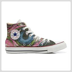 Make Your Shoes Converse Customized Adulte - chaussures coutume (produit artisanal) Pachtwork Texture size 34 EU sCn5MjNu