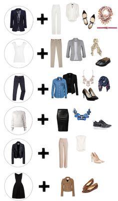 Esta semana apresentamos opções de como maximizar e atualizar o guarda-roupa com seis peças básicas. Sugestões Be Suit.