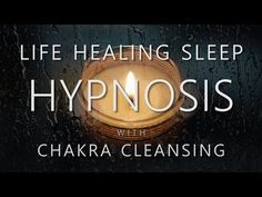Hypnosis for Life Healing Sleep ~ Manifesting Health & Cleansing Chakras (Rain Sounds Sleep Music) This guided deep sleep hypnosis session contains spoken words Sound Of Rain, Rain Sounds, Chakra Cleanse, Health Cleanse, Self Healing, Sound Healing, Chakra Healing, Guided Meditation, Health