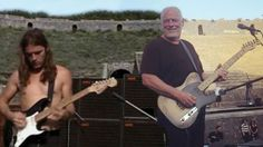 David Gilmour Returns To Pompeii After 45 Years- Plays Two RARE Pink Floyd Songs   Society Of Rock Videos