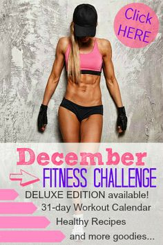 Ready to get fit for 2014?!! Join the december fitness challenge : http://www.mydreamshape.com/december-fitness-challenge/