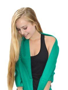 Kelly Green Baby Alpaca Scarf  #love #greenliving #model #miriboheme #edgy