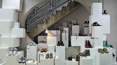 The six-floor concept store stocks rarefied brands such as Celine, Azzedine Alaïa and Rick Owens, alongside all fourteen Comme des Garçons lines in a seemingly ad hoc, constantly evolving space.