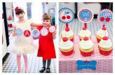 Retro Cherry Birthday Party