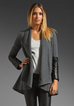 MASON BY MICHELLE MASON Oversized Carcoat in Charcoal at Revolve Clothing - Free Shipping!