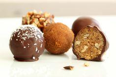 Recipe:  Nutritious No Bake Cookie Dough Truffles (Gluten-Free, Vegan, Refined Sugar-Free)