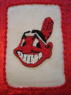 Cleveland Indians cake