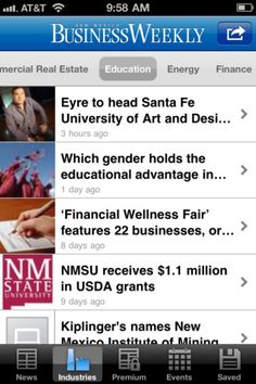 New Mexico Business Weekly App