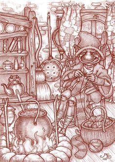 'Tut Gut' - Rosie Lauren Smith Illustration for Miss Landon and Aubranael