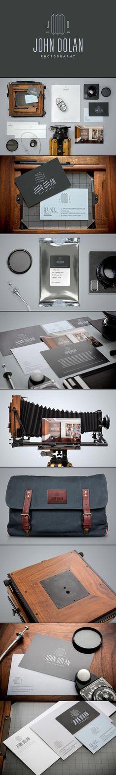 John Dolan Photography | #stationary #corporate #design #corporatedesign #identity #branding #marketing < repinned by www.BlickeDeeler.de