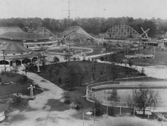 1928 Riverside Amusement Park~~The Carousel from this park has been preserved and is now a ride attraction inside the Indianapolis Children's Museum!