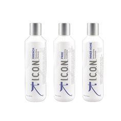 ICON Drench Shampoo 8.5oz   Free Conditioner 8.5oz   Inner Home Treatment 8.5oz (Combo Set) ** Read more info by clicking the link on the image. #hairclip