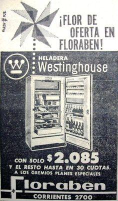 Westingouse Heladeras 1962