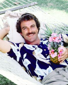 Queeniee's husband...Tom Selleck