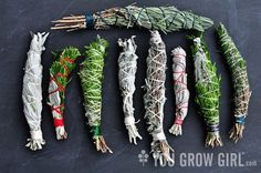 If you have an herb garden, chances are by this point in the growing season, you have an abundance of herbs. So once you've gathered, dried or frozen enough to meet your winter culinary needs, why not try your hand at making a super-simple fragrant herbal smudge stick or fire starter to enhance your outdoor gathering?