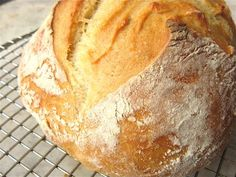 No-Knead Crusty White Bread: step-by-step photos and tips.