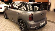 matte grey Hamann Mini Countryman Cooper S - Fibra Foil