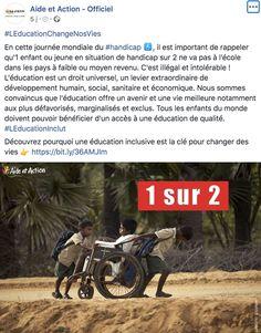 Journée mondiale du handicap Aide & Action