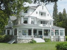 West Bluff Cottage With Unparalleled Views Of The Sparkling Straits Of Mackinac    Vacation Rental in Northern Michigan from @homeaway! #vacation #rental #travel #homeaway