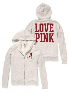 Victoria's Secret PINK University of Alabama Faux-fur Lined Bling Zip Hoodie #VictoriasSecret http://www.victoriassecret.com/pink/university-of-alabama/university-of-alabama-faux-fur-lined-bling-zip-hoodie-victorias-secret-pink?ProductID=82415=OLS?cm_mmc=pinterest-_-product-_-x-_-x