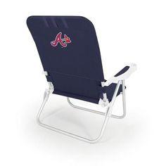 Atlanta Braves Reclining Portable Beach Chair