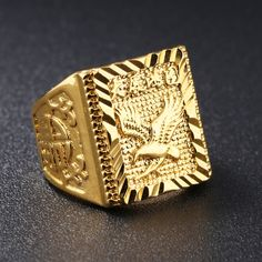 47320a9b484ff 29 Best Gold Ring Design For Man By www.menjewell.com images in 2018 ...