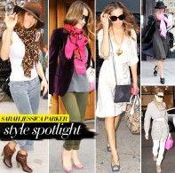 Sarah Jessica Parker, style icon!