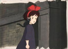 Enjoy a collection of Concept Art from Studio Ghibli Kiki's Delivery Service, featuring Character, Layout, Prop & Background Design. Kiki Delivery, Kiki's Delivery Service, Japanese Love, Hayao Miyazaki, Manga Anime, Concept Art, Aurora Sleeping Beauty, The Incredibles, Disney Characters