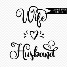 Husband Spouse Coronary heart SVG Reduce File – Marriage ceremony SVG Marriage ceremony SVG Stencil Design Hand Lettered Script Finest Image For couple tattoos star. Marriage Tattoos, Wedding Symbols, Script Words, Hand Lettering Art, Marriage Couple, Cute Couple Art, Key To My Heart, Wedding Card Design, Tattoo Blog