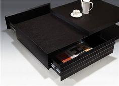 Modern & functional coffee table.