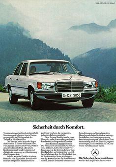 Mercedes-Benz S (1977) W116 350 SE Sicherheit durch Komfort | Flickr - Photo Sharing!