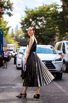 Fei Fei Sun - On the Street: NYFW S/S 17 - September 2916