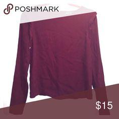 ASTR blouse from Nordstrom ASTR bold shoulder blouse from Nordstrom in Oxblood ASTR Tops Blouses